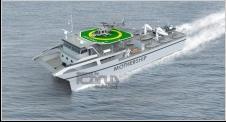 53m Catamaran Crew Boat