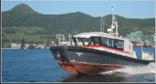 12.5m HYSUCAT dive boat
