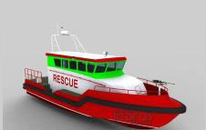 15.1m SAR boat