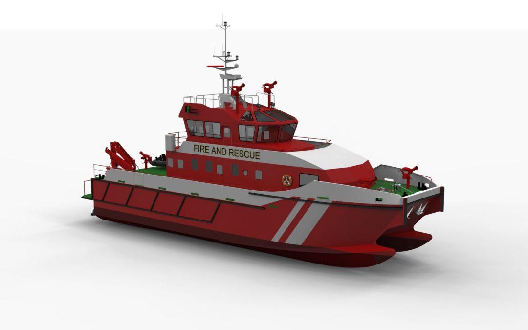 25m Firefighting Catamaran