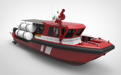 13m Airport Rescue Boat