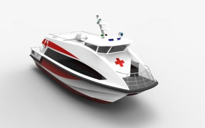 15.6m Ambulance Boat